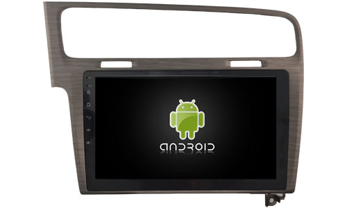 autoradio android 6 0 gps volkswagen golf 7 cran tactile 10 2. Black Bedroom Furniture Sets. Home Design Ideas