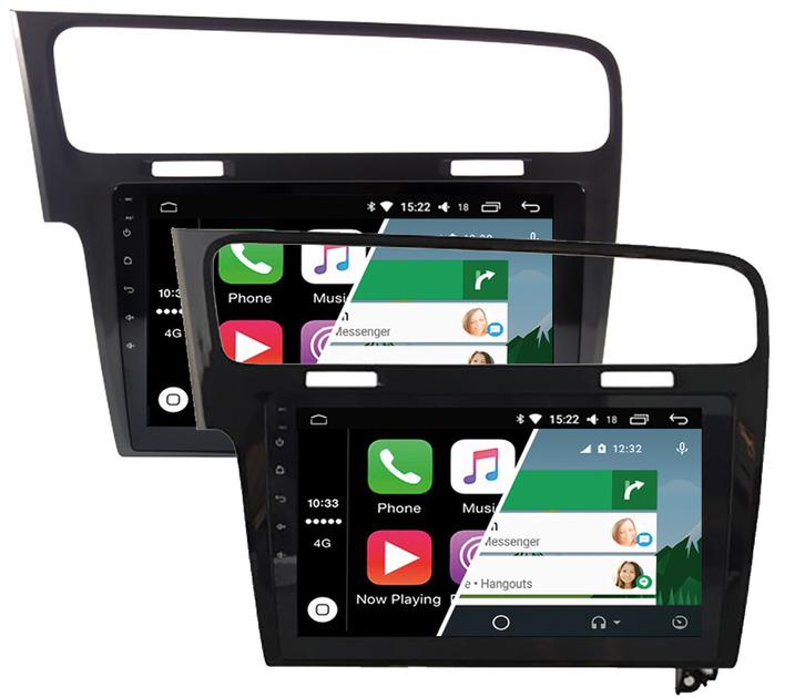 ecran tactile carplay android auto gps waze wifi volkswagen golf. Black Bedroom Furniture Sets. Home Design Ideas