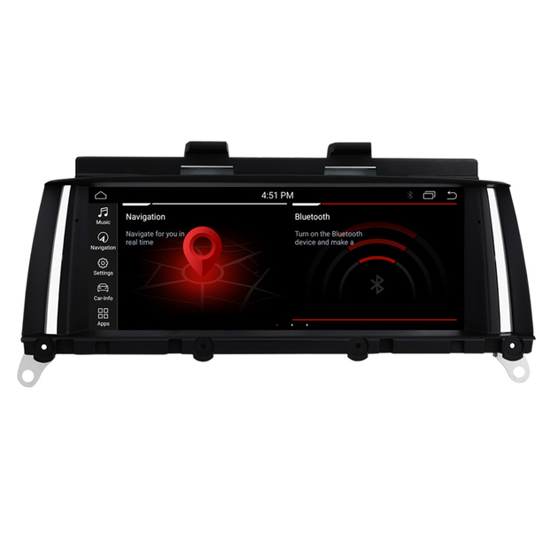 Ecran Tactile Android 10.0, Apple Carplay BMW X3 F25 Et X4