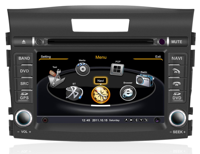 autoradio gps sygic europe honda cr v depuis 2012 avec cran tactile hightech privee. Black Bedroom Furniture Sets. Home Design Ideas