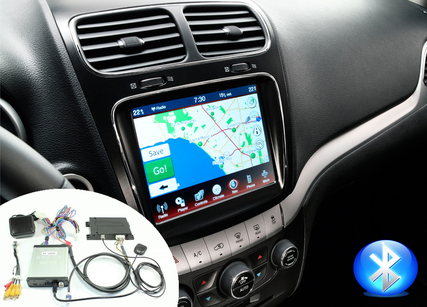 ntv kit ou kit ajouter navigation gps autoradio uconnect  dodge hightech privee