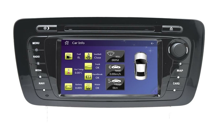 autoradio dvd gps europe seat ibiza cran tactile 7 seat hightech privee. Black Bedroom Furniture Sets. Home Design Ideas