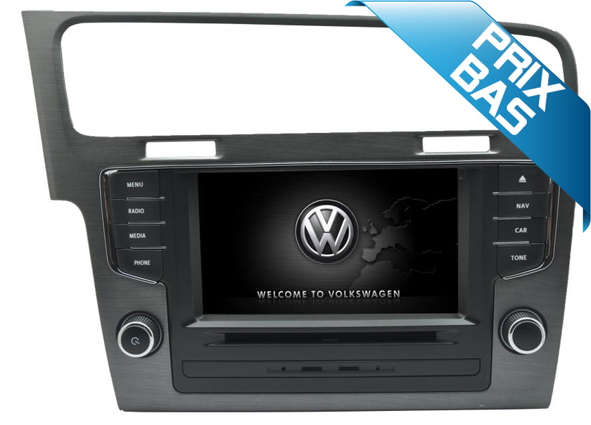 autoradio gps dvd usb volkswagen golf 7 pas cher hightech privee. Black Bedroom Furniture Sets. Home Design Ideas