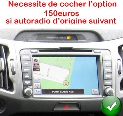 autoradio gps europe kia sportage ecran tactile dvd bluetooth hightech privee. Black Bedroom Furniture Sets. Home Design Ideas