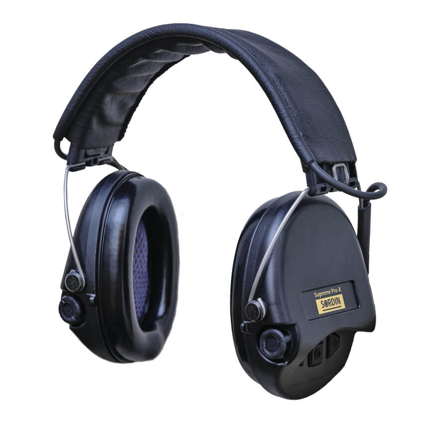 SORDIN SUPRÊME PRO X ( protection auditive )