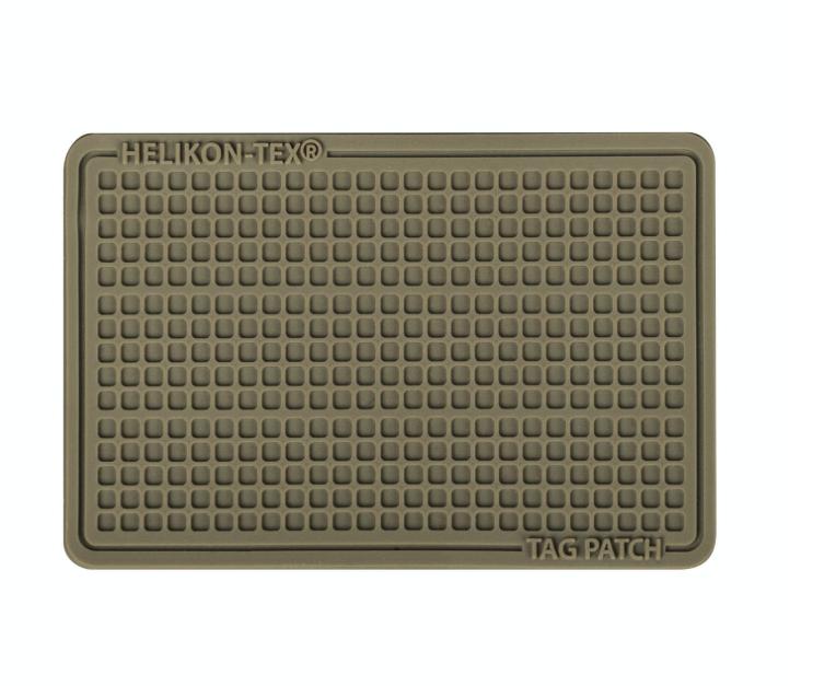 TAG PATCH 60X40MM (SET - 3PCS.) - PVC