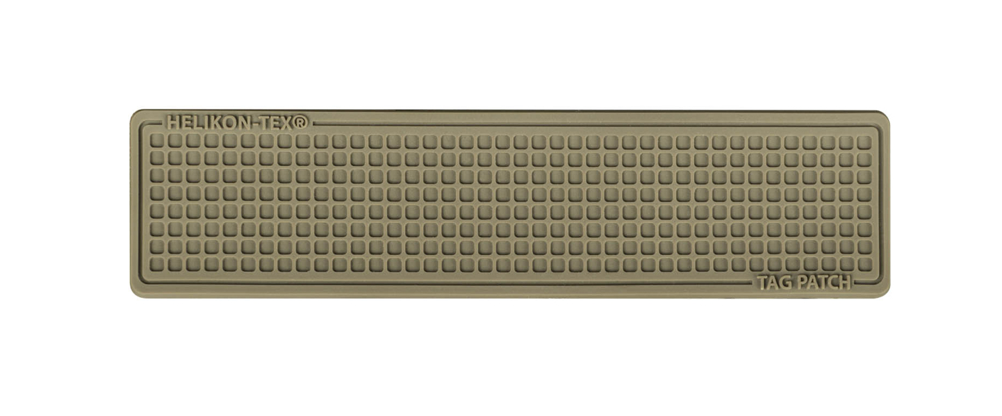 TAG PATCH 100X25MM (SET - 3PCS.) - PVC