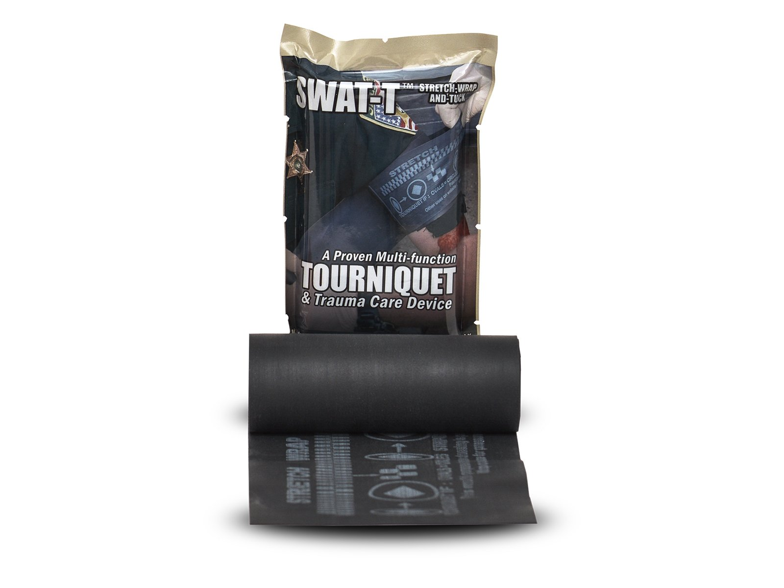SWAT-T Tactical Black Tourniquet