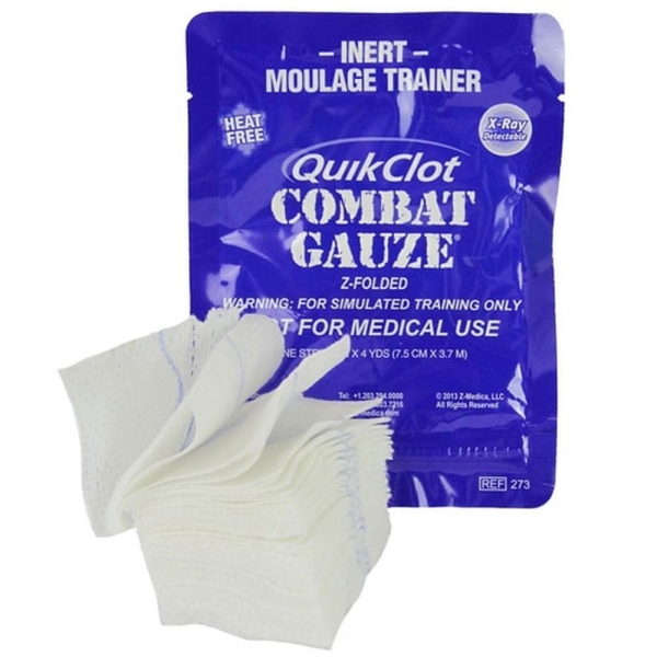 QUIKCLOT GAUZE CE Z-FOLD TRAINER