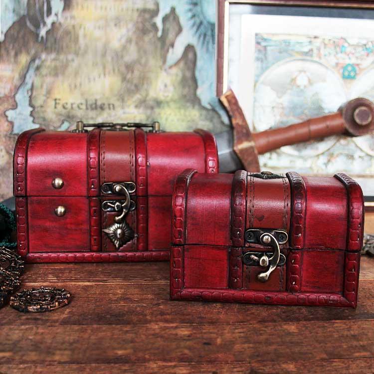 Coffre aux trésors de pirate