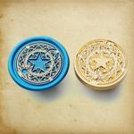 sceau-cire-etoile-lunaire