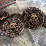 Pièces de monnaie pirate
