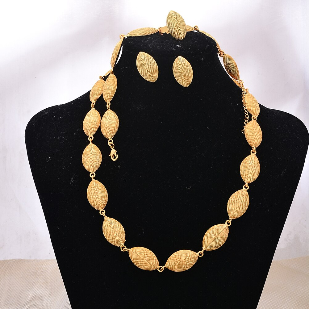 Parure de bijoux style Africaine