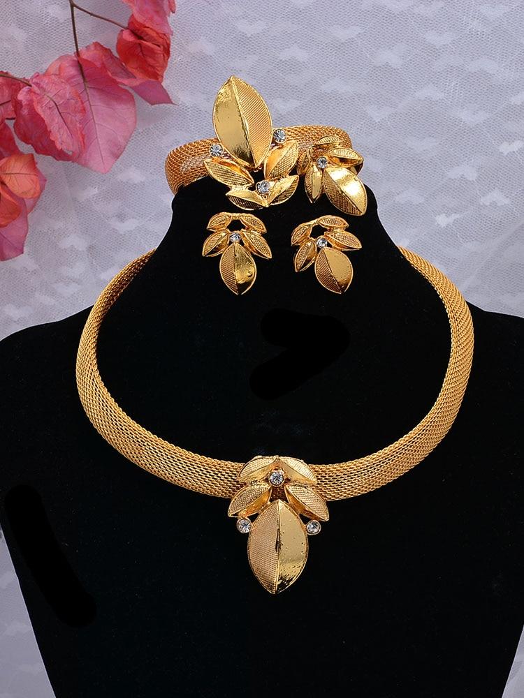 Parure de bijoux nuptiale