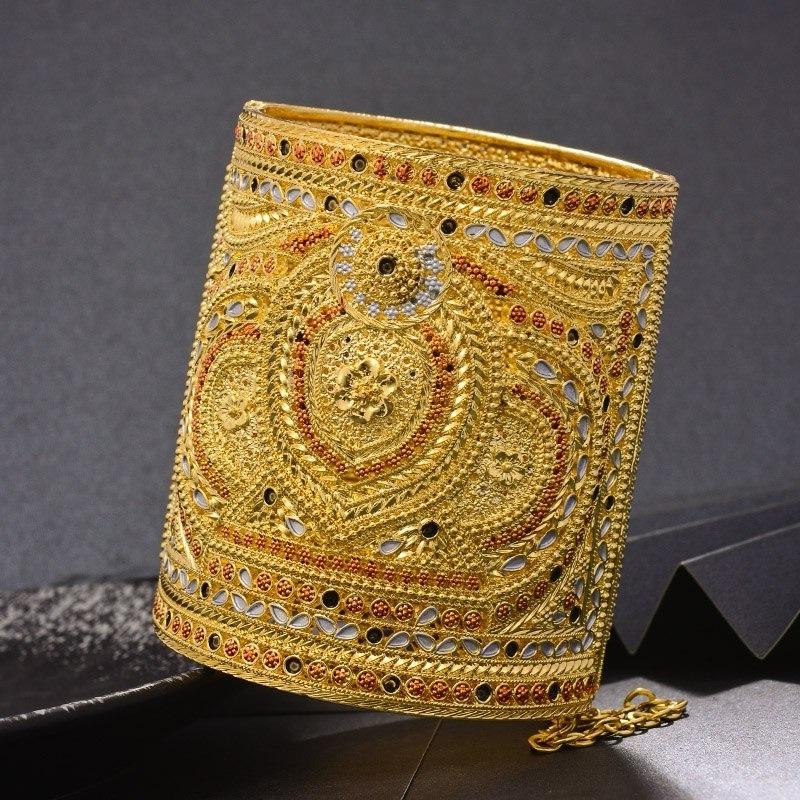 Bracelet manchette de luxe oriental