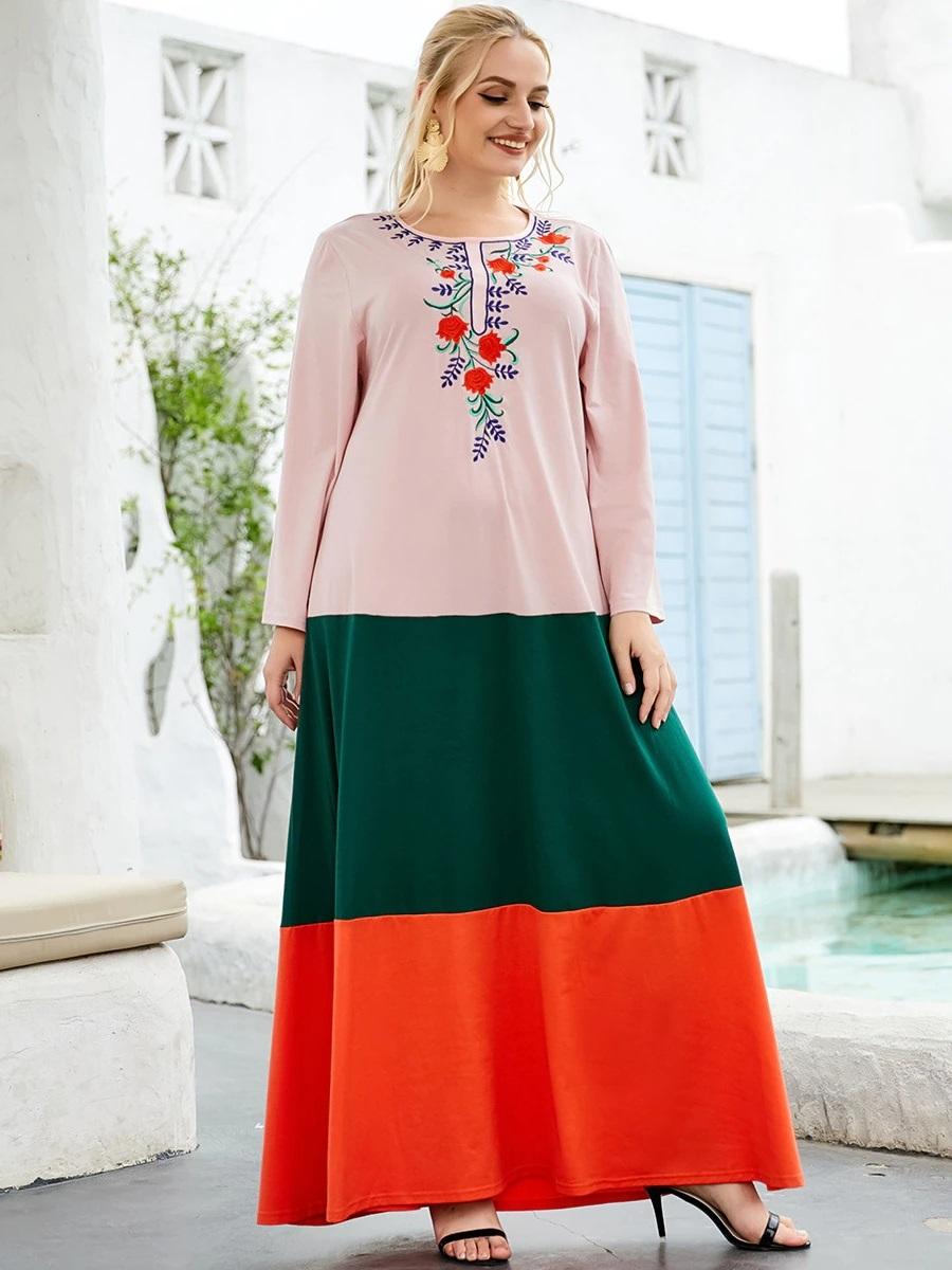 Robe maxi mexicaine