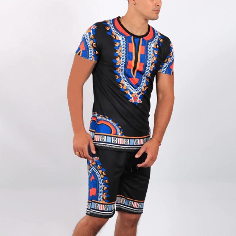 Short et t-shirt dashiki