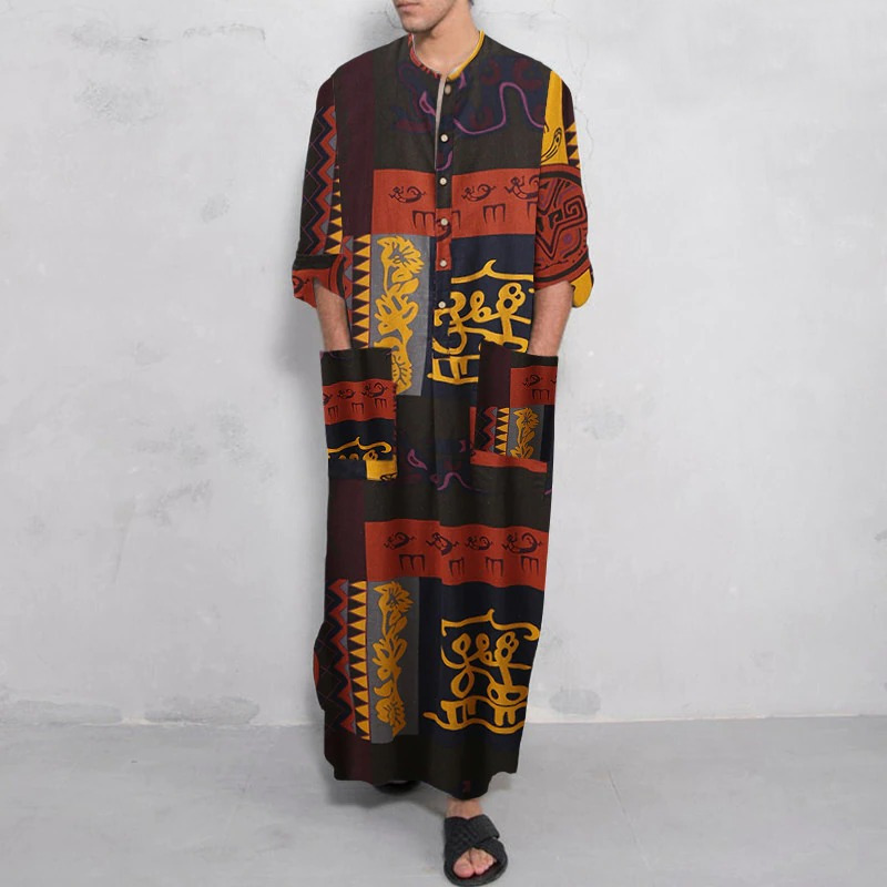Robe Dishdasha imprimée
