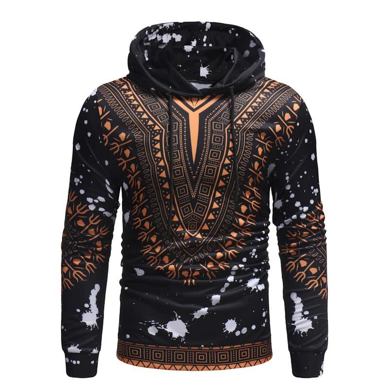 Sweatshirt casual dashiki