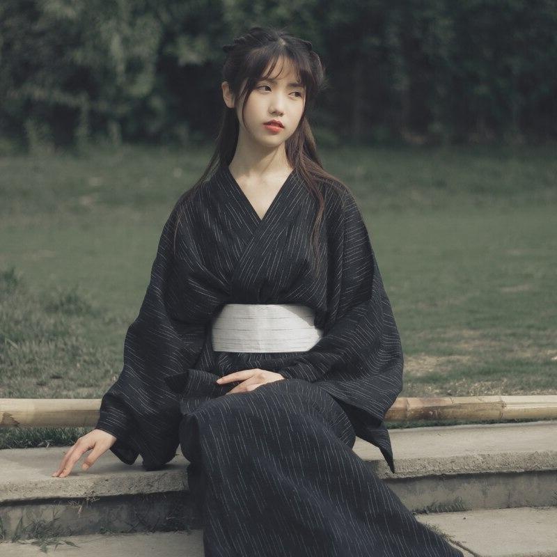 Yukata traditionnel femme