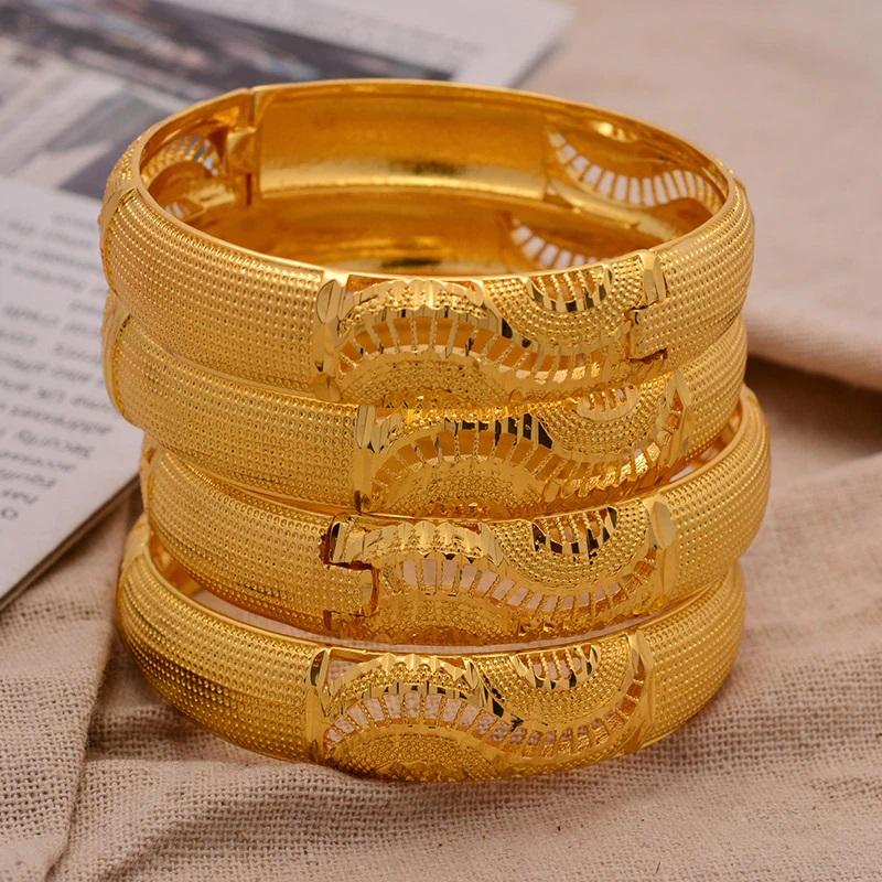 Set de bracelets style Dubaï nuptial
