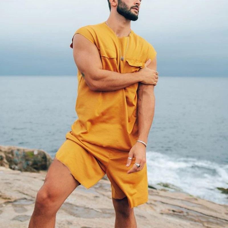 Ensemble tee-shirt et short homme