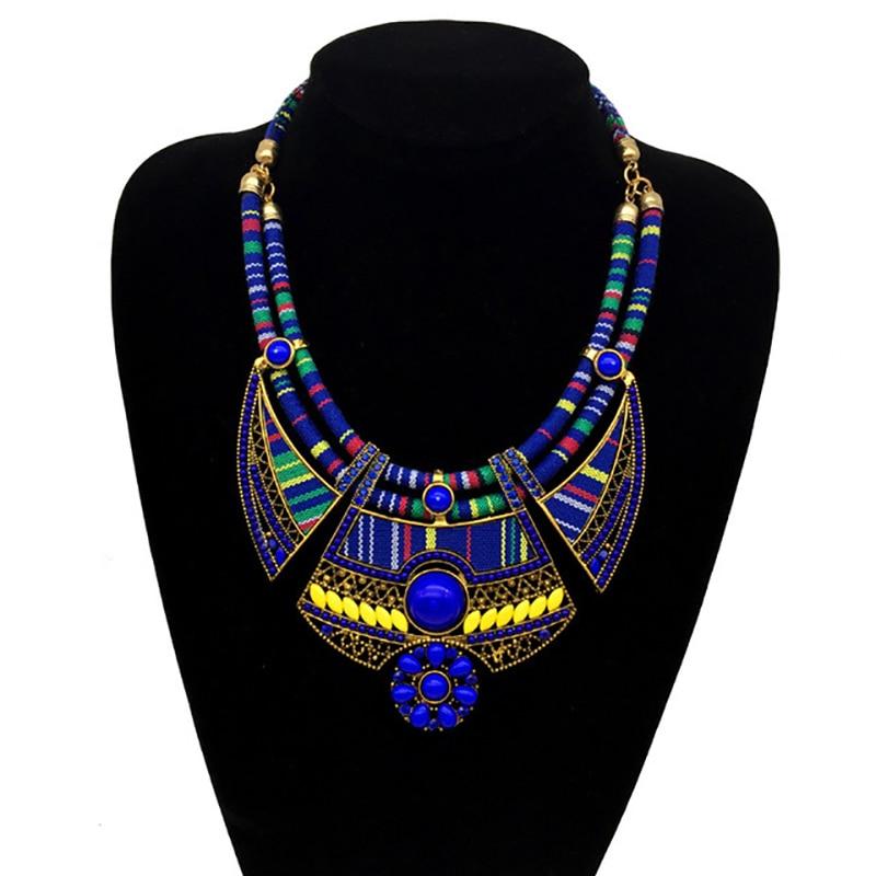 Boho-collier-bijoux-pour-femmes-lourd-boh-me-Hyperbole-pendentif-ras-du-cou-pour-fille-ethnique