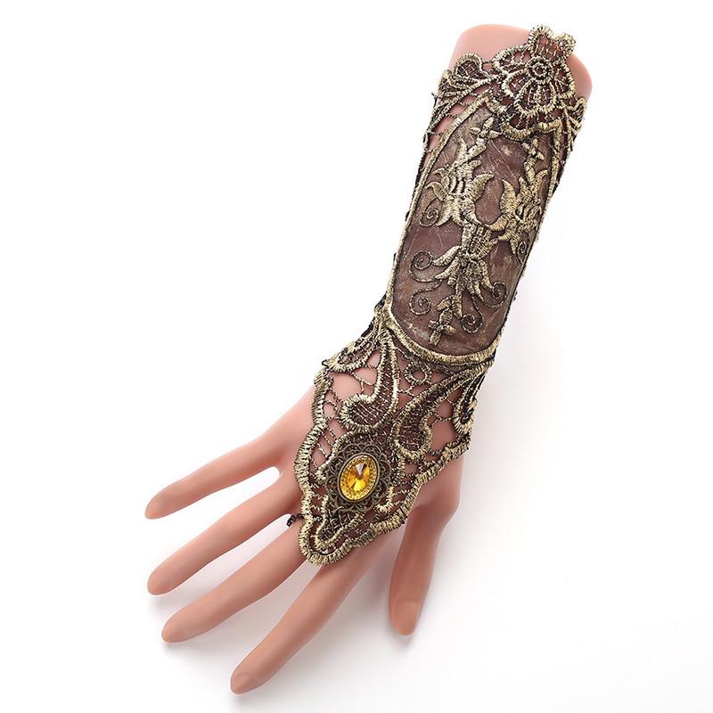 Nouveau-Bracelet-Vintage-Steampunk-gants-pour-femmes-manchette-quipement-dentelle-Handwear-accessoires-Couple-cadeau-Bijoux-livraison