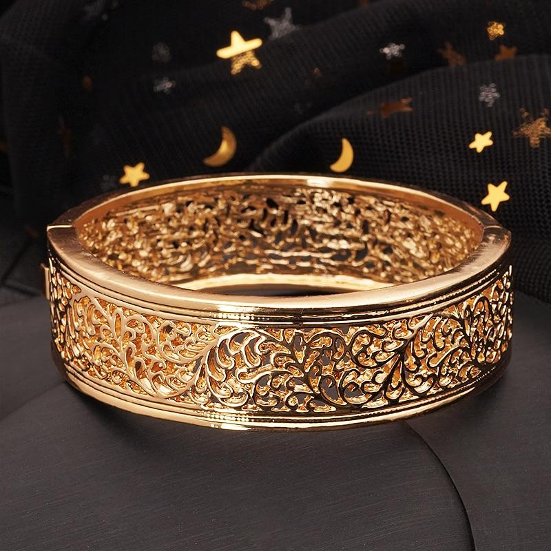 Bracelet manchette classique style orientale