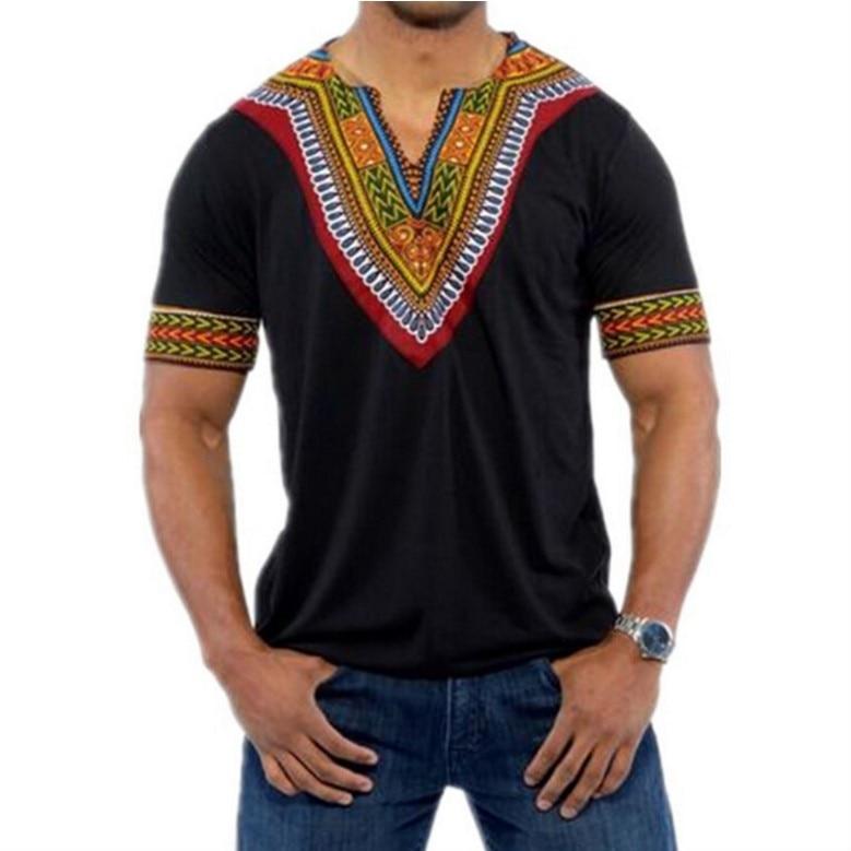 T-shirt Dashiki pour homme