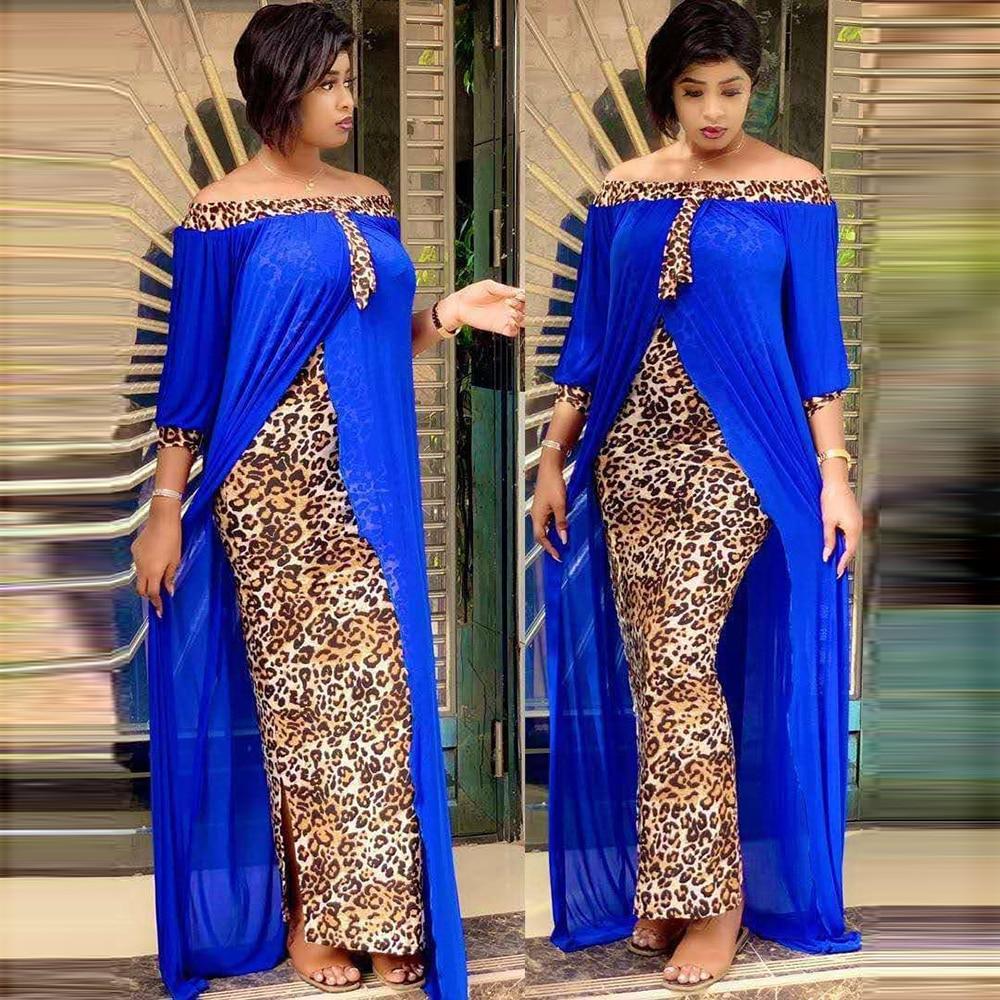 Robe de soirée africaine