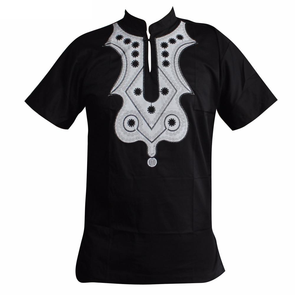 T-shirt brodé Dashiki africain