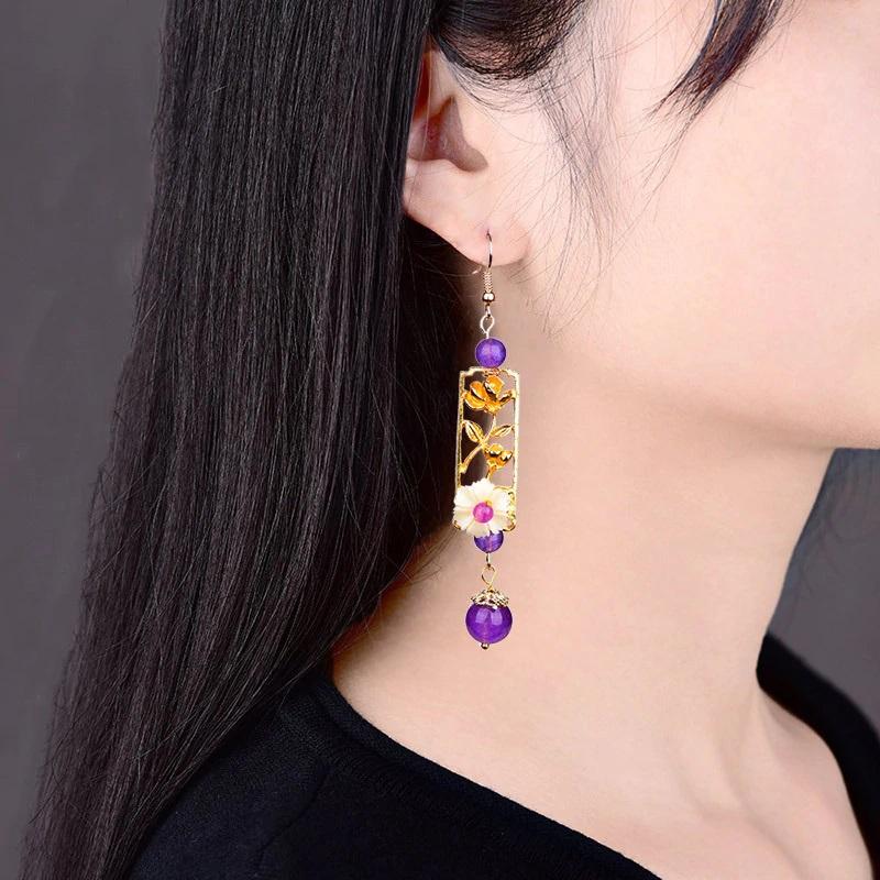 Boucles d\'oreilles chinoise