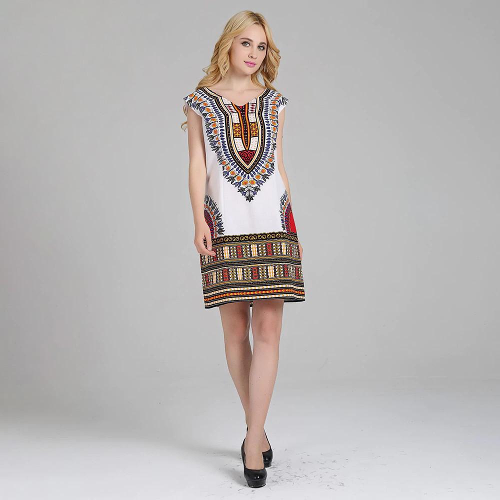 Robe courte Dashiki