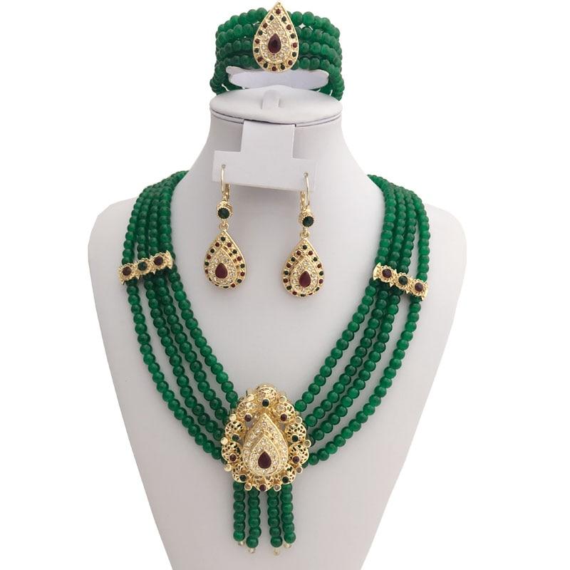 Parure en perles pour mariage berbère
