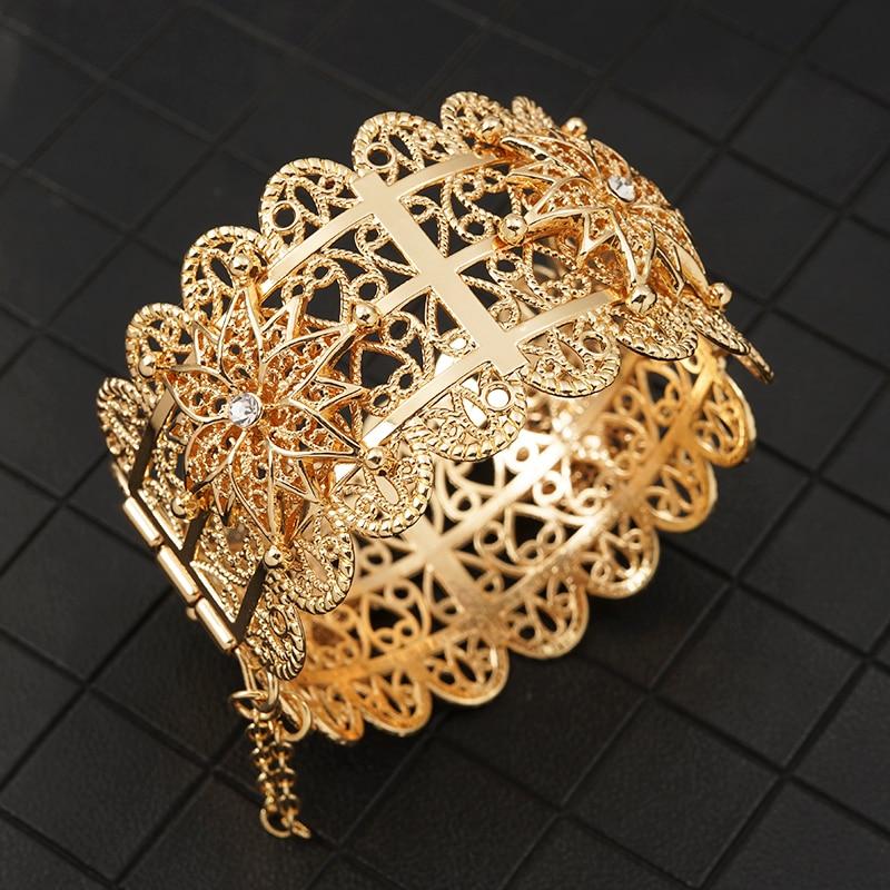 Bracelet manchette de mariage oriental