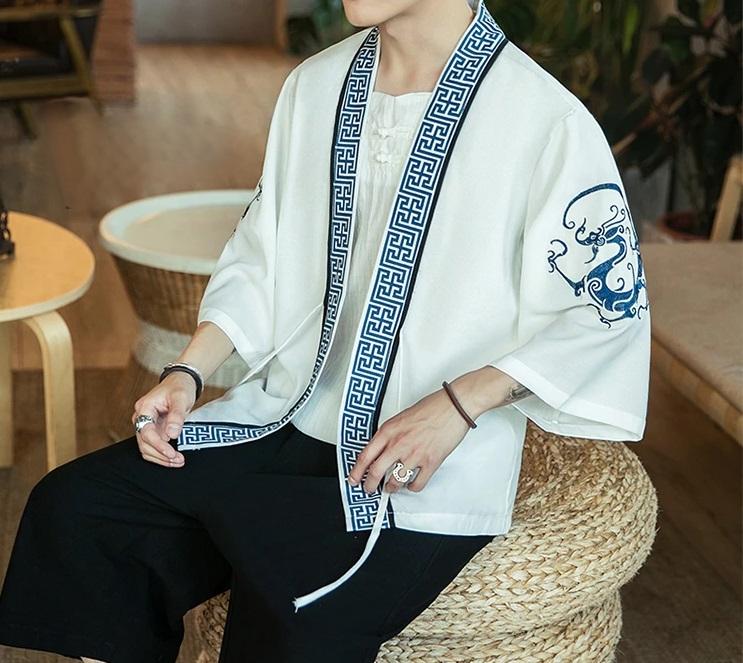 Veste Kimono brodé