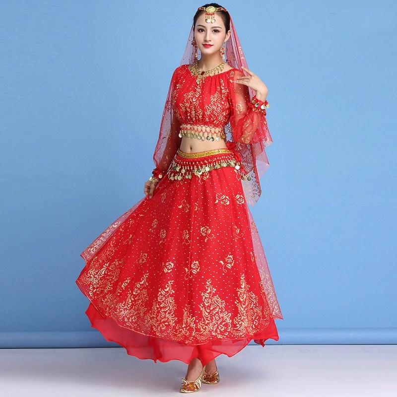 Costume complet sari indien de danse