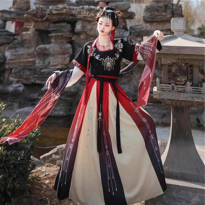 Costume traditionnel de danse chinois