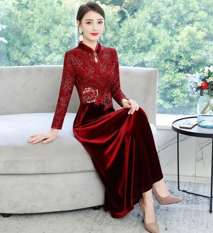 Robe de mariée asiatique