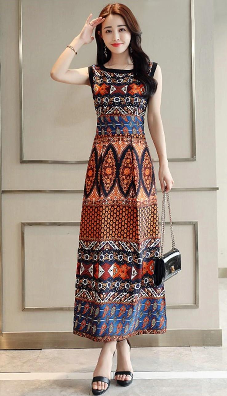 robe bohème florale