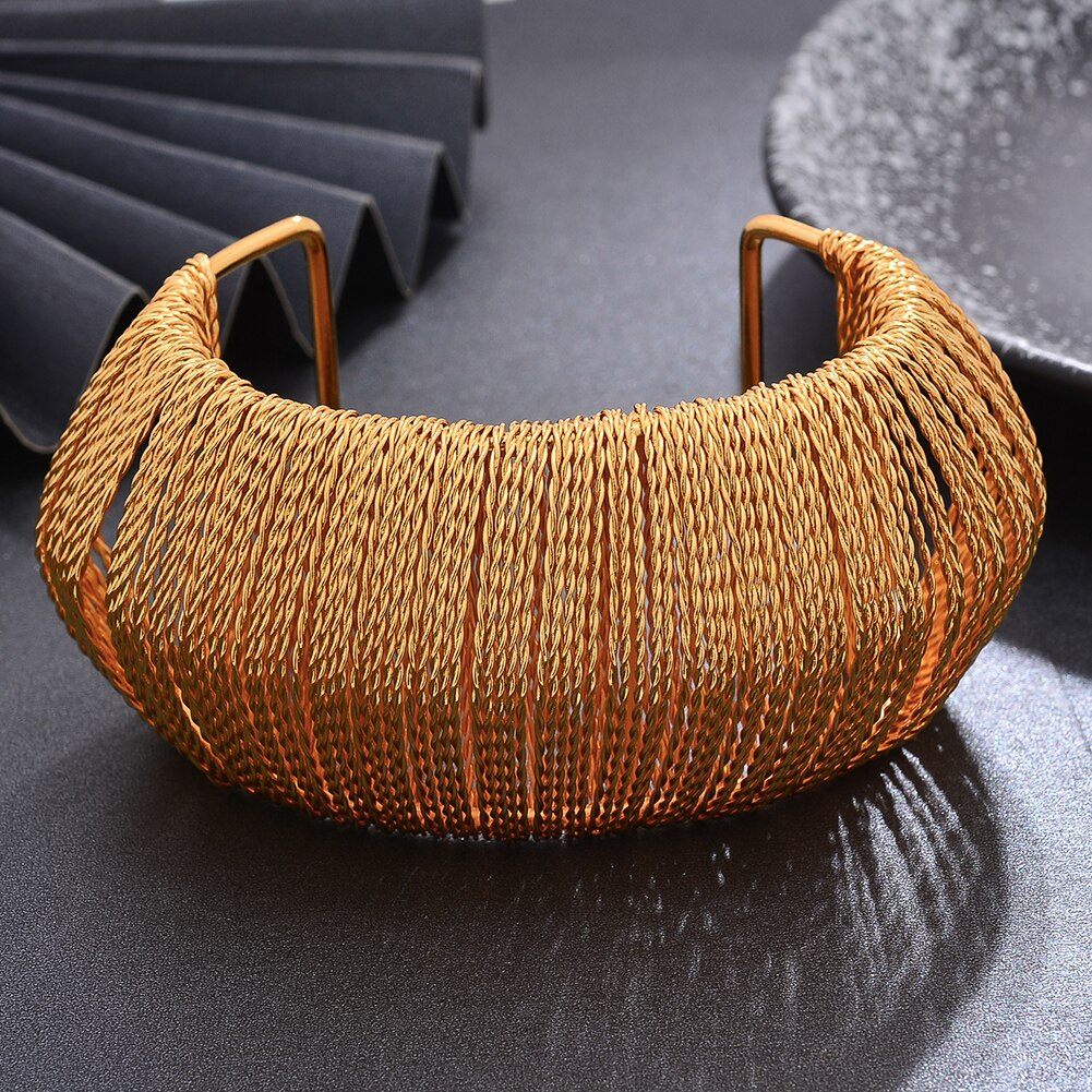 Bracelet manchette traditionnel africain