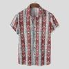INCERUN-Imprim-Hommes-Chemise-Streetwear-Col-Rabattu-Et-Manches-Courtes-D-contract-Camisas-2021-R-tro