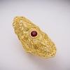 Wando-Vintage-grand-or-couleur-bague-de-mariage-taille-libre-anneaux-exquis-motif-fleur-anneau-pierre