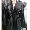Robe kimono noire