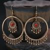 Classique-femmes-gitane-or-rond-mariage-boucles-d-oreilles-bijoux-tib-tains-dames-r-tro-gland
