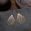 Ethnique-soie-g-om-trie-alliage-goutte-d-eau-boucles-d-oreilles-mode-bijoux-Vintage-gitane