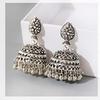 Boucles-d-oreilles-Boho-pour-femmes-ethnique-afghane-bijoux-suspendus-couleur-or-gitan-argent-cloches-bijoux