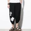 Pantalons-Kimono-japonais-pour-hommes-ample-pantalon-imprim-samoura-sept-points-Costume-traditionnel-asiatique-Yukata-Harajuku