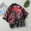 Kimonos-Cardigan-hommes-Yukata-femmes-japonais-Kimono-traditionnel-unisexe-Harajuku-plage-ample-mince-chemise-soleil-protection
